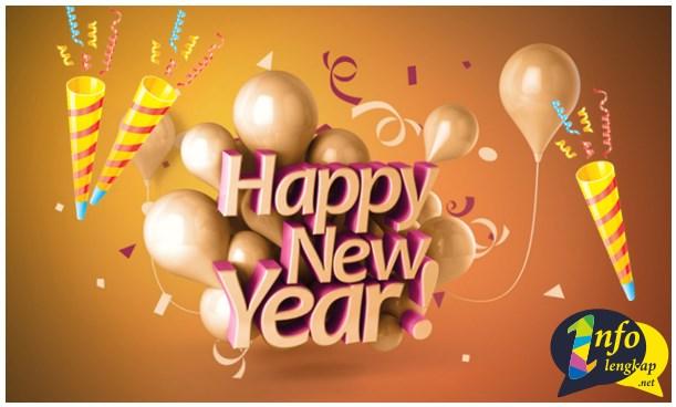 NEW!! Ucapan DP BBM, Line, WA, IG Tahun Baru 2017
