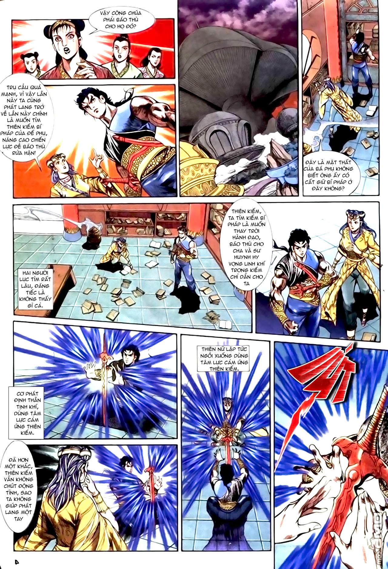 Cơ Phát Khai Chu Bản chapter 153 trang 5