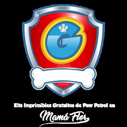 Logo de Paw Patrol con la Letra G