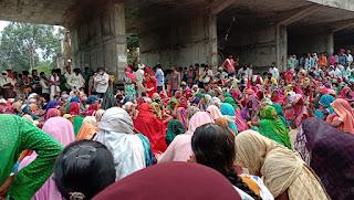 वन अमले पर दंडात्मक कार्यवाही न होने पर नेपानगर क्षेत्र ने छेड़ा जेल भरो आन्दोलन