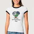 Are you looking for custom designed environment day T-shirts?