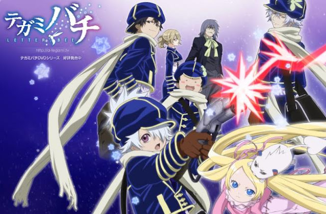 Anime Mirip Violet Evergarden - Tegamibachi (Tegami Bachi: Letter Bee)