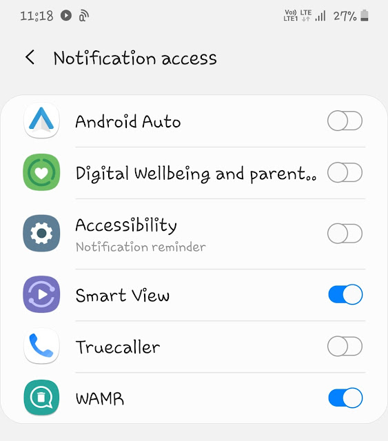 Check WhatsApp notifications spying app