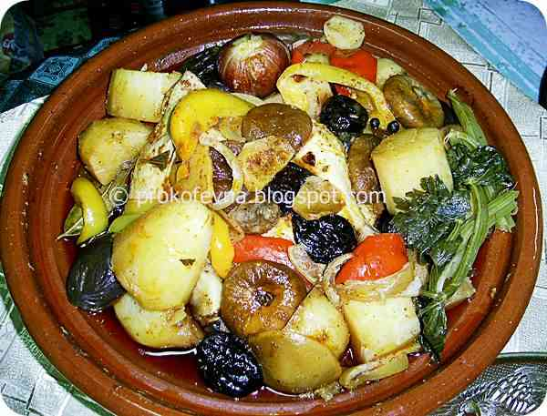 chicken tagine with prunes