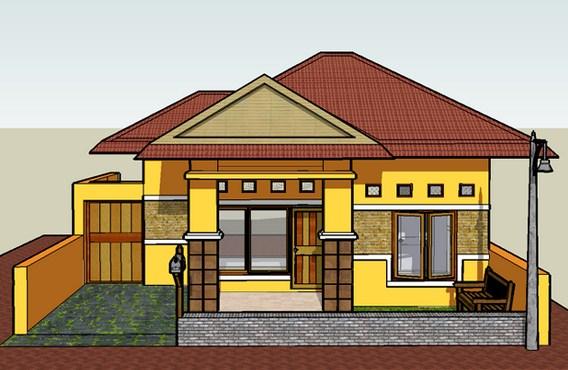 100 Gambar Desain Rumah Impian Sederhana Minimalis Model ...