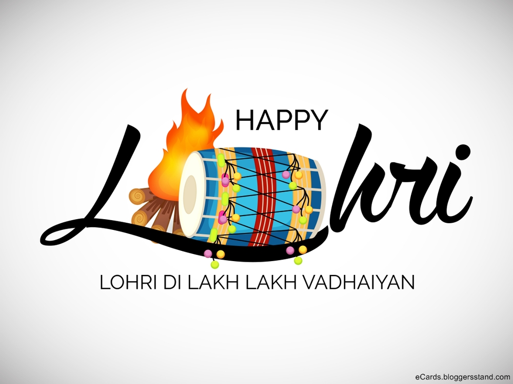 Happy Lohri Wishes messages images