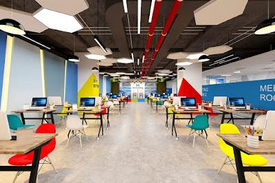 Địa chỉ bán bàn ghế setup văn phòng co-working space tại HCM - 2