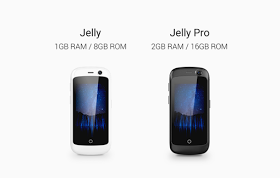 Meet Jelly The Smallest 4G Smartphone With Nougat 7.0