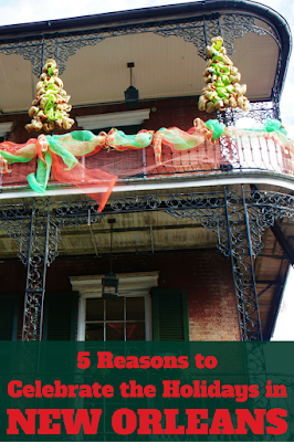 Travel the World: 5 reasons to celebrate Christmas and New Year's Eve in New Orleans.
