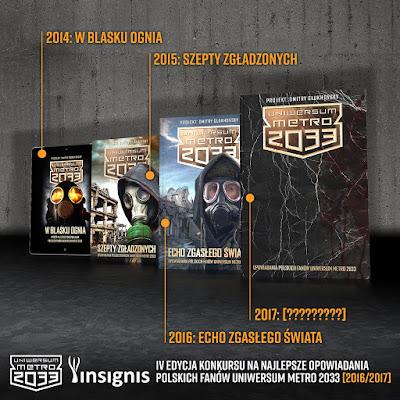 IV edycja konkursu na fan fiction Uniwersum Metro 2033 + Niespodzianka!!!