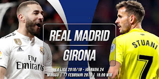 مباراة ريال مدريد وجيرونا بث مباشر اليوم