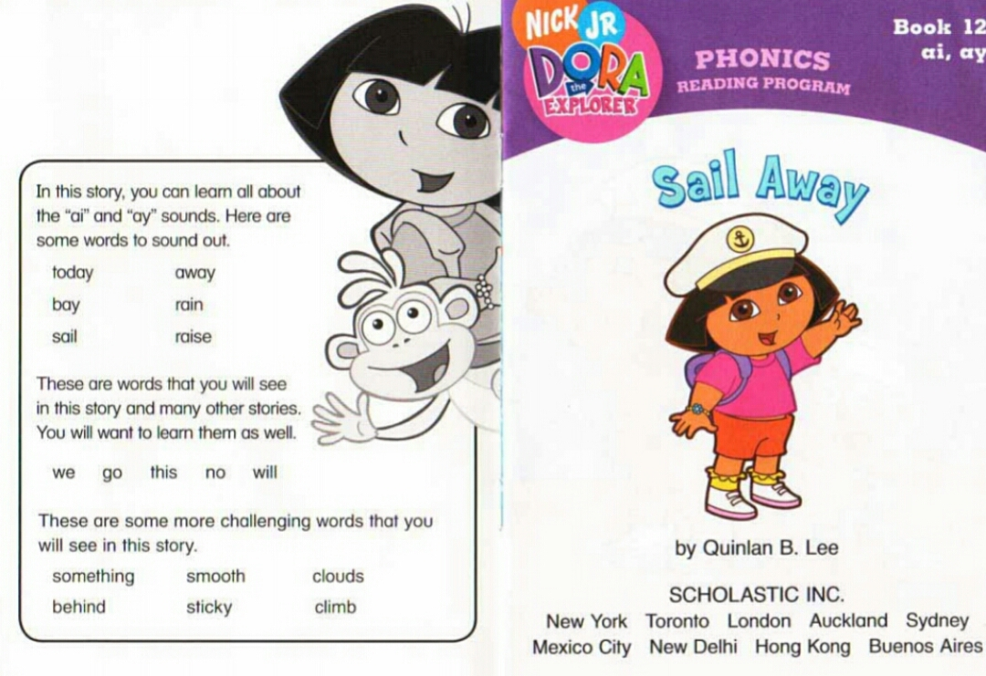 Download 12 Sets Of Phonic Reading Program Books Dora ...