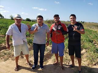 Dia produtivo, um projeto onde todos dão as mãos, muito obrigado destacou  Tiago da EMATER.