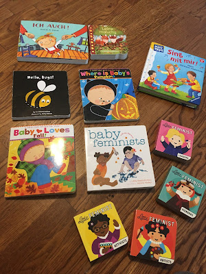 Some of my 1.5 toddler girl's favorite books in fall 2020