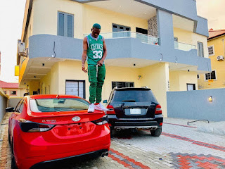 Zlatan Ibile new house