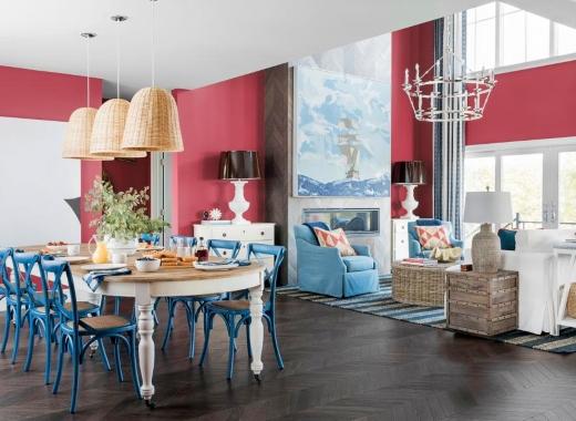 Living Dining Room Coastal Interiors Dream Home