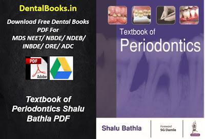 Textbook of Periodontics Shalu Bathla PDF