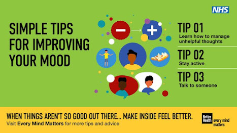 Simple tips for improving mood when things out there arent so good