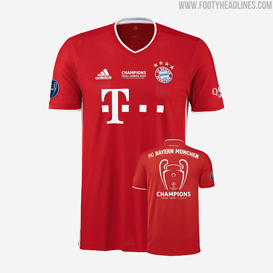 Bayern Munich 2020 Champions League And Treble Collections Released Footy Headlines