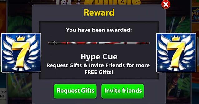 Free Cue and Avatar 8 ball pool Rewards