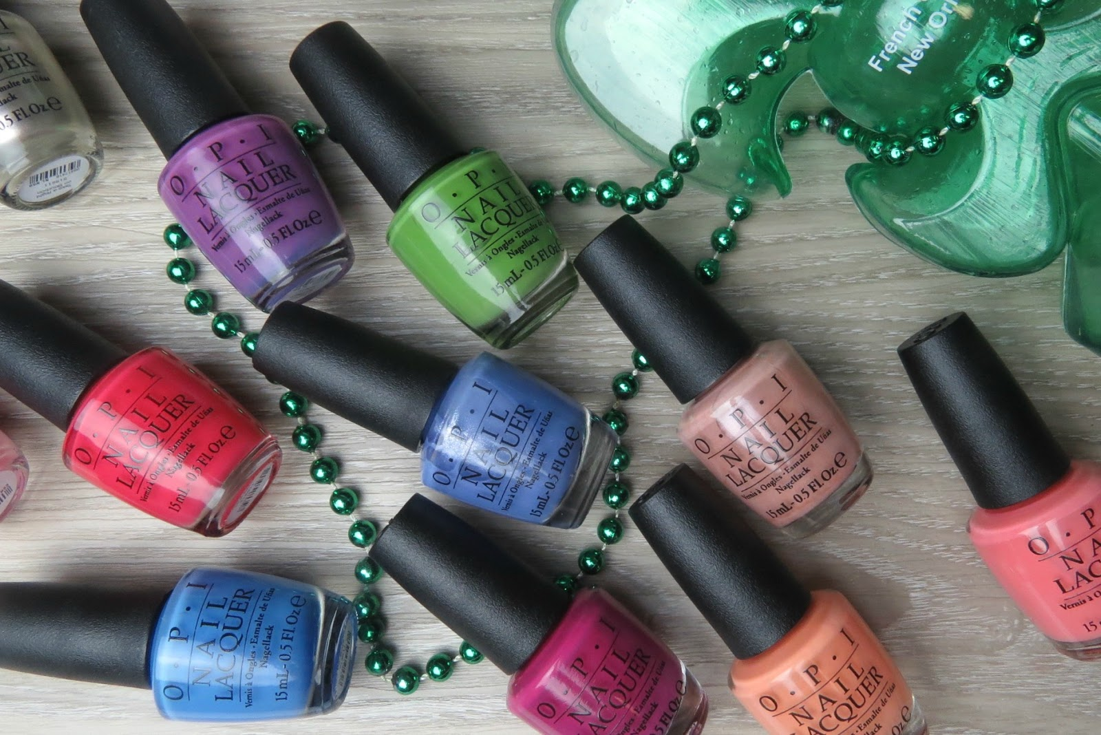OPI Spring 2016 New Orleans Collection* | Kaitlyn Elisabeth Beauty
