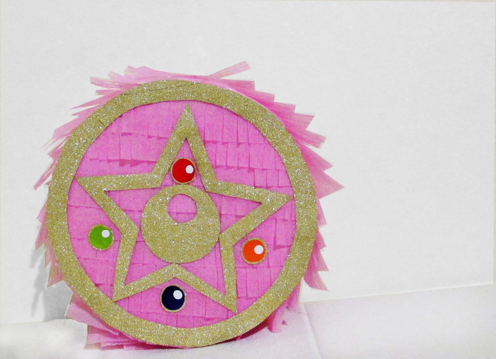DIY Sailor Moon Crystal Star Pinata