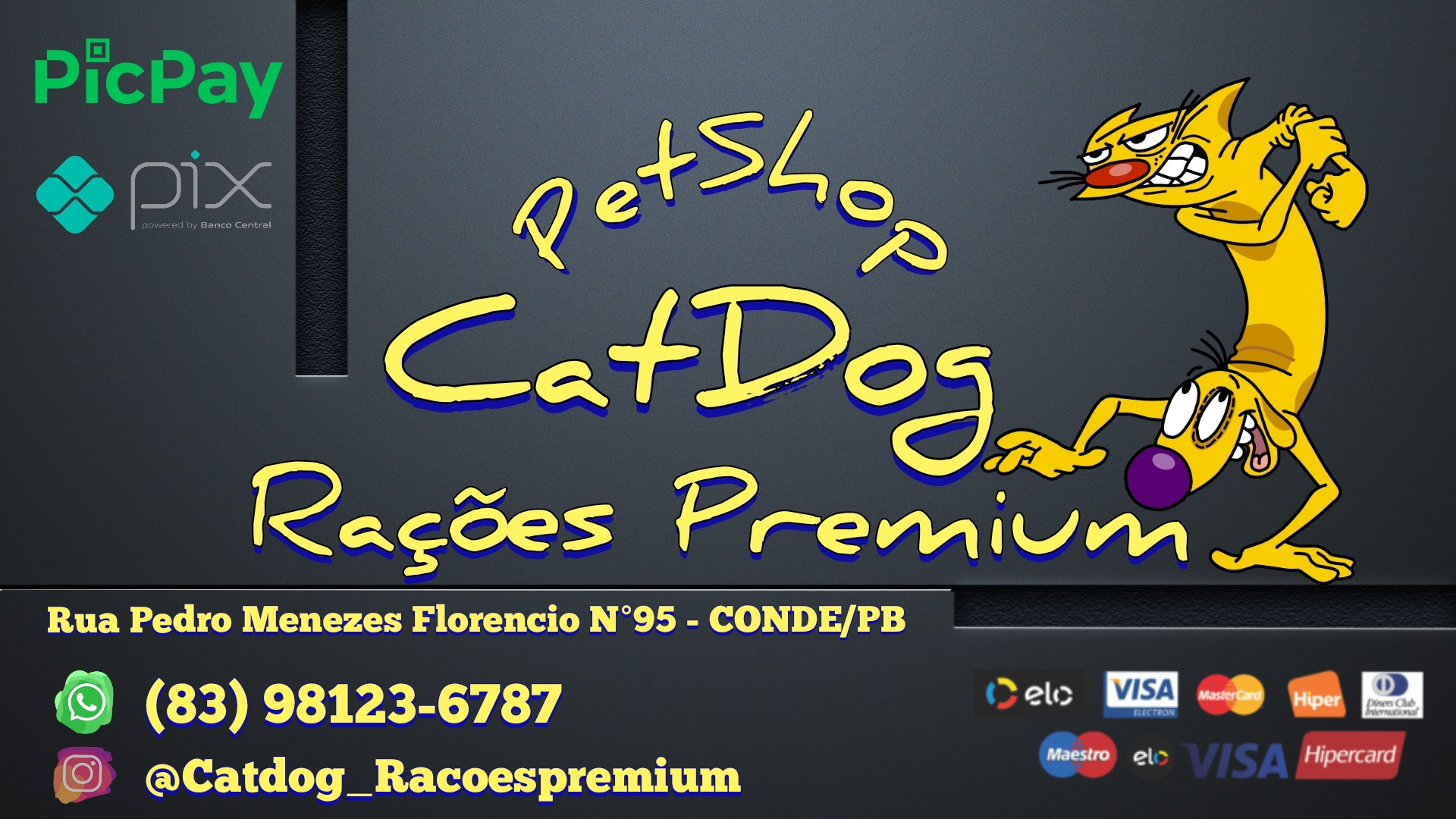 Catdog Rações Premium