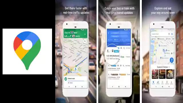 تحميل تطبيق اندرويد Google Maps للمواصلات والسفر