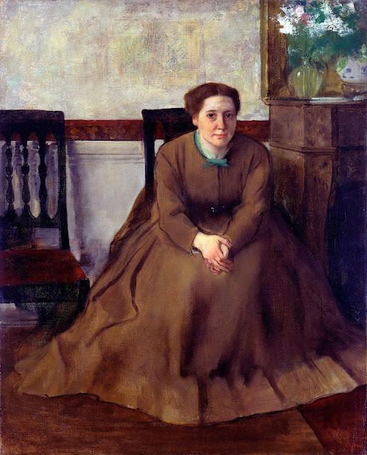 Эдгар Дега - Портрет Виктории Dubourg (1868-1869)