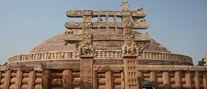 10 Lines on Sanchi Stupa in Hindi