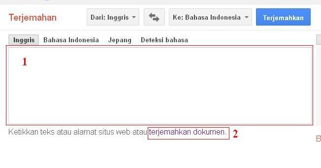 Menterjemahkan Bahasa Inggris Indonesia Menggunakan Google Translate Coretan Pengetahuan