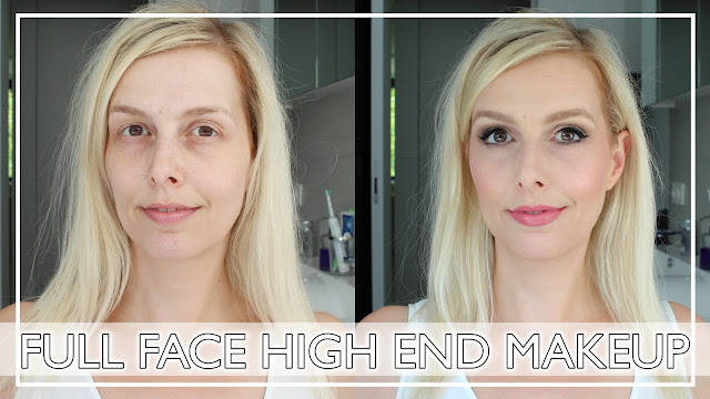 High end makeup look