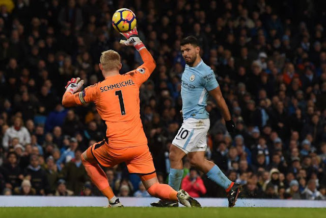 Manchester City sukses Kalahkan Leicester City 5-1