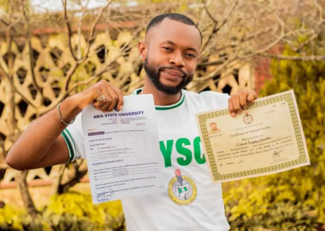 Wahala: See the job a Nigerian first class graduate got employed to do in Nigeria