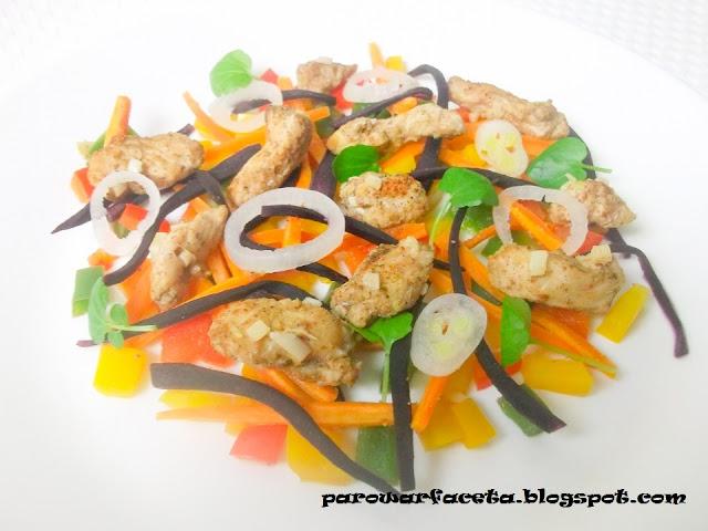 przepis na indyka z warzywami