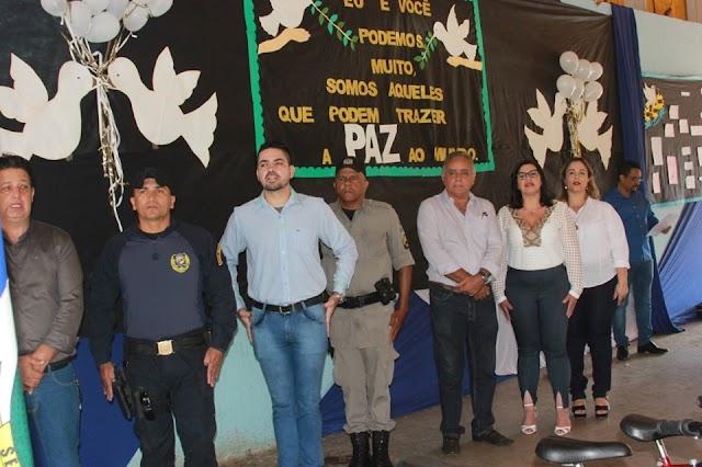 Senador Canedo: Projeto Unidos em prol da Paz realiza cerimônia de encerramento