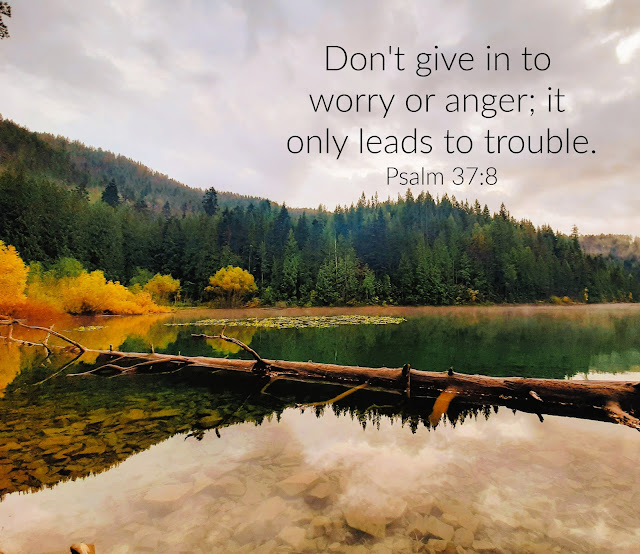 Don't Give Into Anger