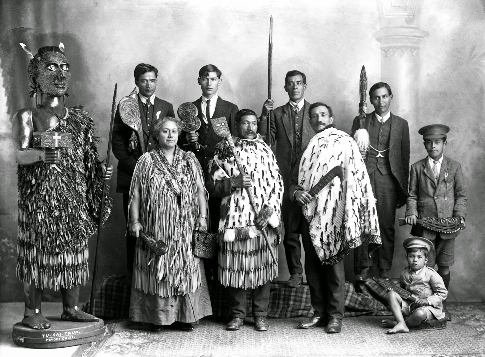 Ancient Maori Culture: History In Photos: Frederick Nelson Jones