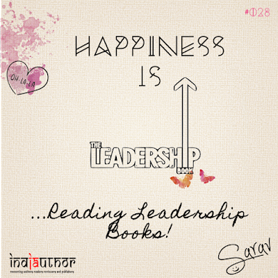 Happiness is Reading Books on Leadership!