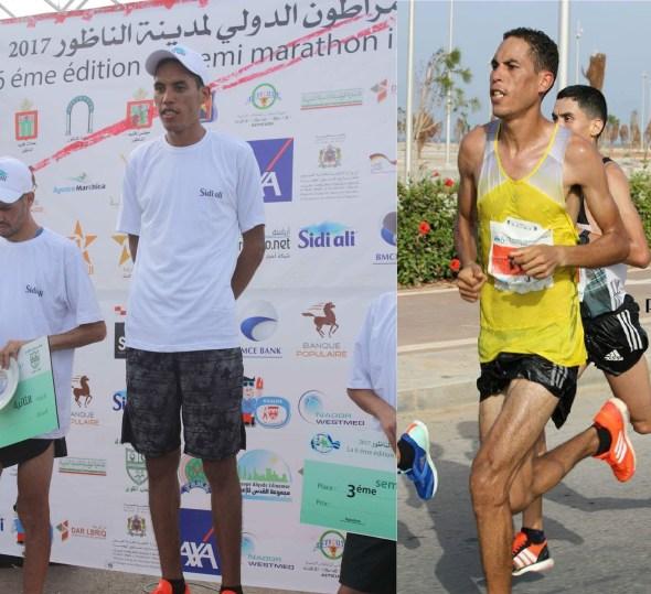 أسبوع حافل للعداء التالويني عبد الرحمان كاشير واللقب الثاني بسباق نصف الماراطون الدولي لمدينة الناظور