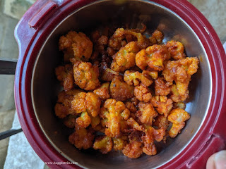 Baked Gobi 65 Recipe | How to prepare Gobi 65 without deep frying | Gobi 65 Recipe in Oven