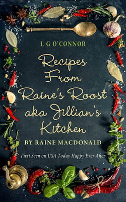 Recipes from Raine's Roost aka Jillian's Kitchen cookbook cover