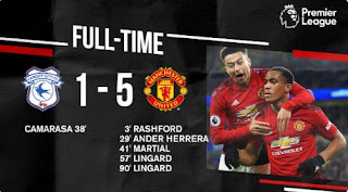 Cardiff City vs Manchester United 1-5 Full Highlights