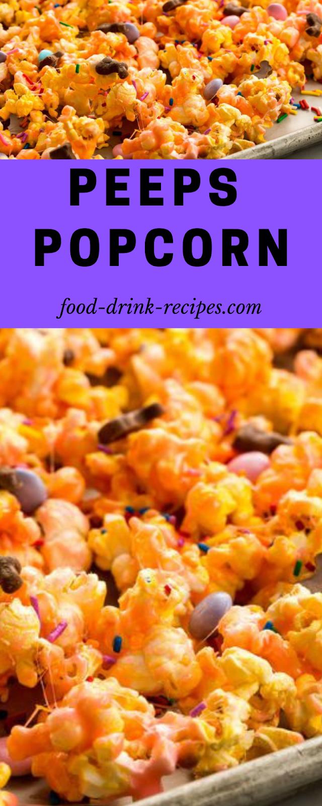 Peeps Popcorn - food-drink-recipes.com