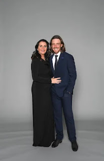 Tommy Fleetwood With His Wife Clare Fleetwood