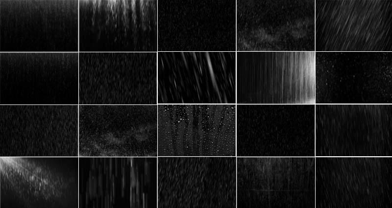 Rain Overlay Effects Pack