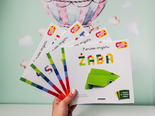 Czytam dziecku | Biblioteczka Hani. Akademia Mądrego Dziecka. Pierwsze origami.