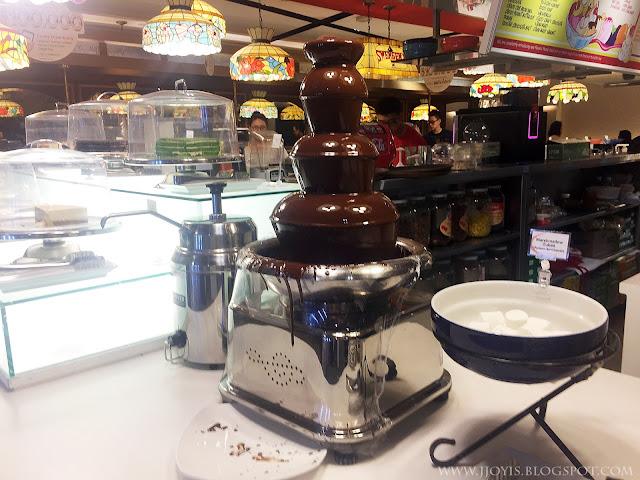 swensens chocolate fondue