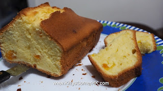 Pound Butter Cake with Milk 鮮油鮮奶蛋糕 自家烘焙 食譜 home baking recipes