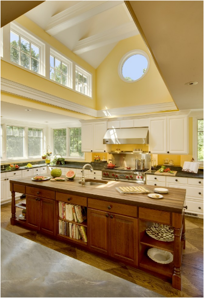Key Interiors By Shinay: Yellow Kitchen Ideas